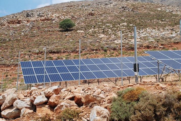 Solar energy station, Tilos